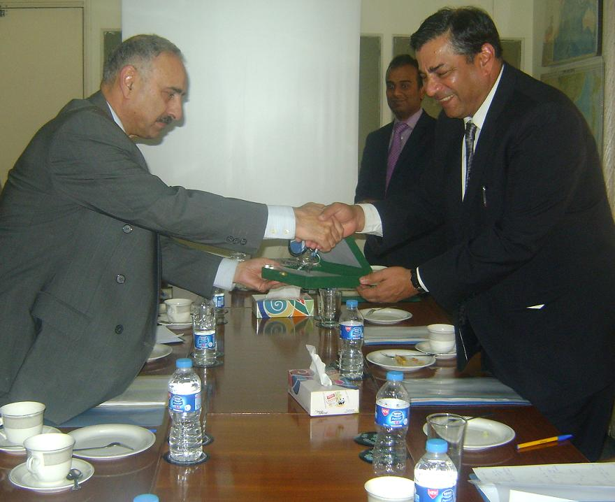 T.C.A. Dr. Raghavan, the High Commissioner of India to Pakistan